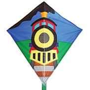 Train Diamond Kite