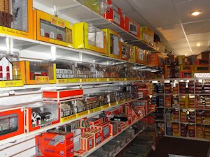 Train Town Toy and Hobby Store Interior